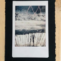 Texture 1 - Insta photo mounted on card & wood