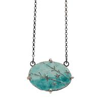 Blossom by the sea enamelled pendant