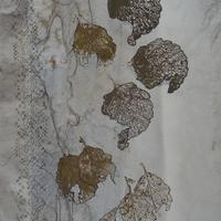 Cascading Leaves / Textiles