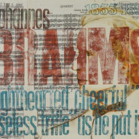 Brahms Trifle Mixed Media 330mm x 280mm