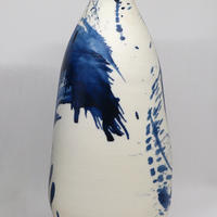 'Calligraphy' series. Tall bottle 25cm high.