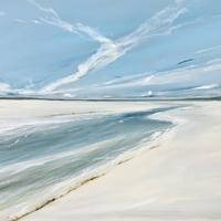 Summer Inlet,  oil on canvas, 80x100cm