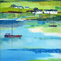 On the Shore:  Acrylics