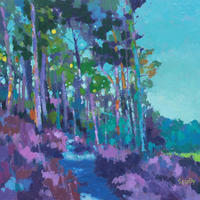 """Into the Woods/Oil/10"""" x 12"""""""