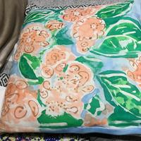 Handpainted Silk Cushions from £45