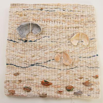 Shell Piece - Tapestry woven textile