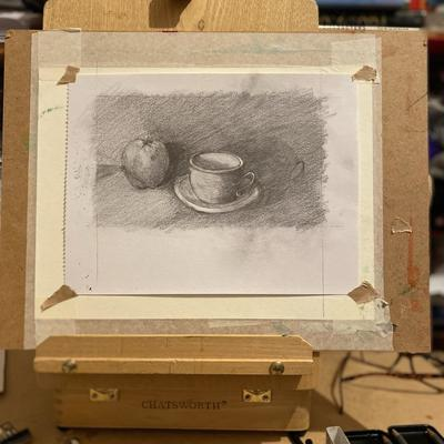 Cup & apple study
