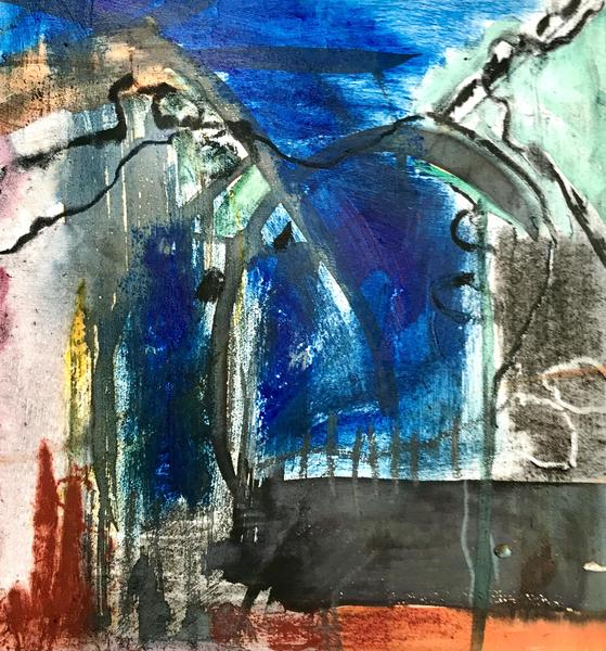 oil pastel/acrylic/charcoal.