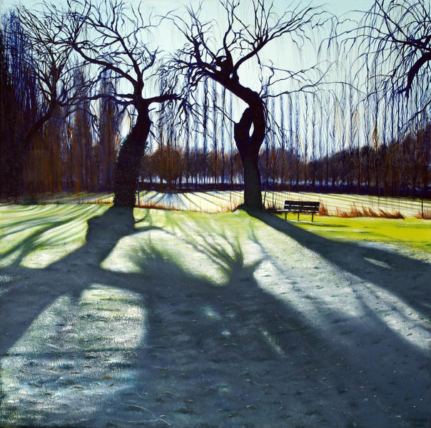 Christchurch Meadows Lifecycle; Oil on Canvas; 1000mm x 1000mm mm