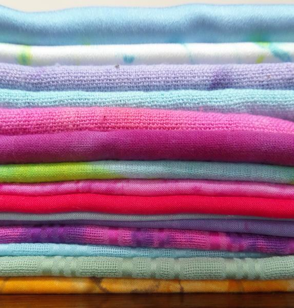 Sustainable fabric scarves (bamboo, banana, soya, cotton and silk)