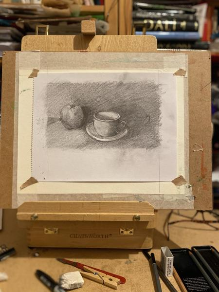Cup & apple study