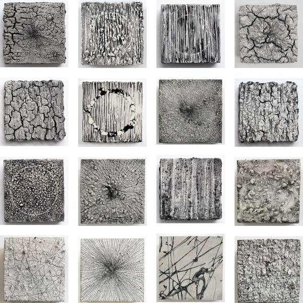 Mixed media, works on paper & small sculpture