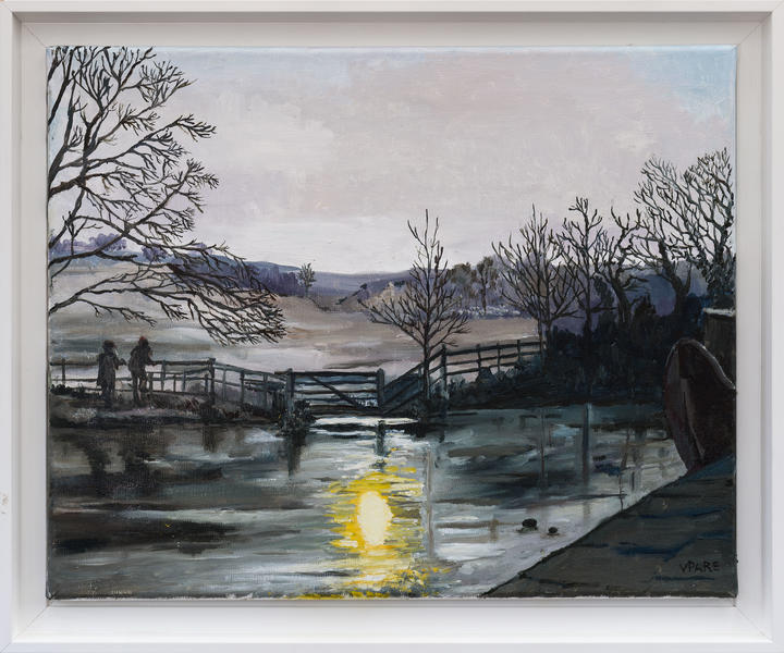 Dawn on the Kennet, £300